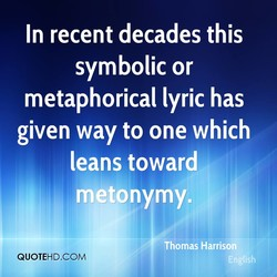 In recent decades this 