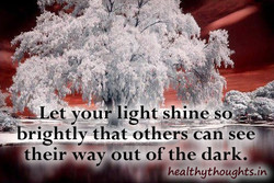 eVyour light shine so 