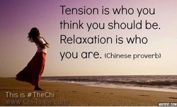 Tension is who you 
