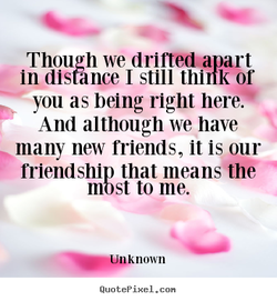 Though we drifted* art 