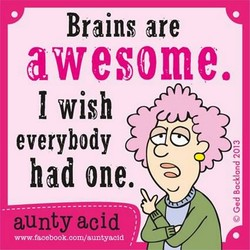 Brains are 