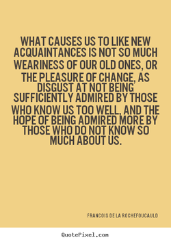 WHAT CAUSES US TO LIKE NEW 