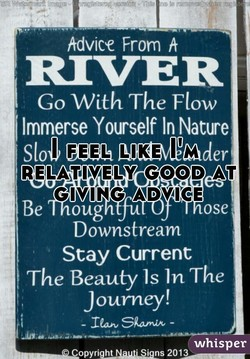 Advice From h 