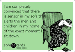I am completely 