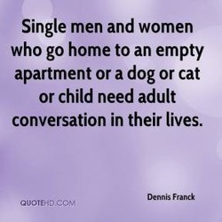 Single men and women 