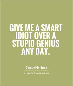 GIVE ME A SMART 