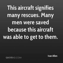 This aircraft signifies 