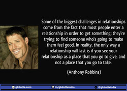 Some of the biggest challenges in relationships 