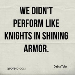 WE DIDN'T 