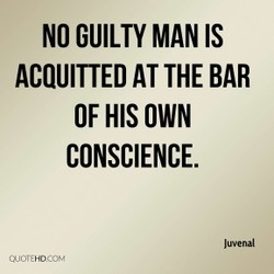 NO GUILTY MAN IS 