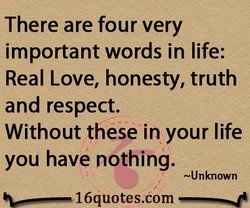 There are four very 