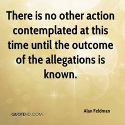 There is no other action 