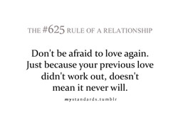 THE #625 RULE OF A RELATIONSHIP 