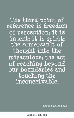 The third point of 
