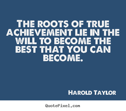THE ROOTS OF TRUE 