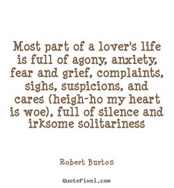 Most part of a lover'S life 