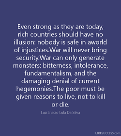 Even strong as they are today, 