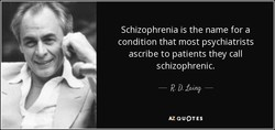 Schizophrenia is the name for a 