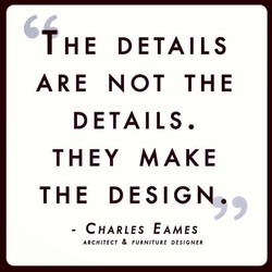 THE DETAILS 