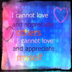 I cannot love 