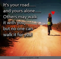 It's your road.... 