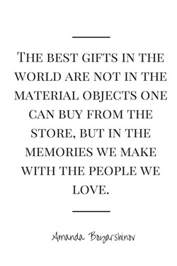 THE BEST GIFTS IN THE 