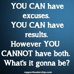 YOU CAN have 