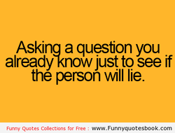 Askina a question you 