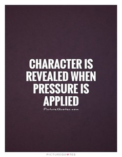 CHARACTER IS 