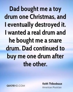 Dad bought me a toy 