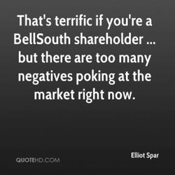 That's terrific if you're a 