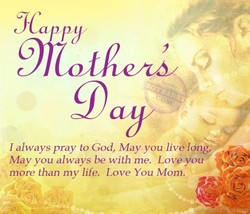 I always pray to God, May you live long, 