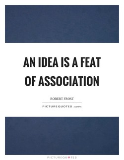AN IDEA IS A FEAT 