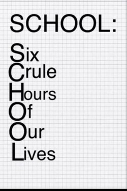 SCHOOL: 