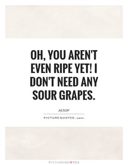 OH, YOU AREN'T 