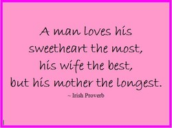 A maw Loves his 