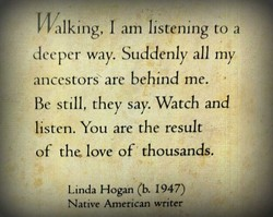 IValking, I am listening to a 
