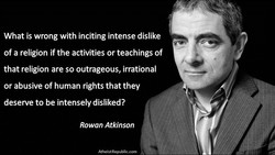 What is wrong with inciting intense dislike 