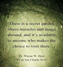 AT here is a secret garden 