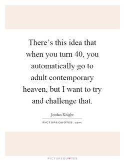 There's this idea that 