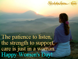 The patience to listen, 
