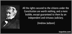All the rights secured to the citizens under the 
