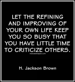 LET THE REFINING 