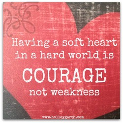 Having a softheärt 