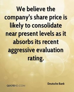We believe the 