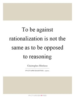 To be against 