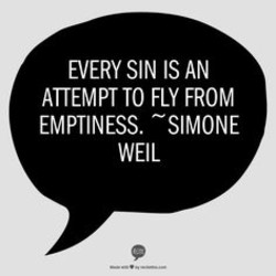 EVERY SIN IS AN 