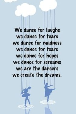We dance for laughs 