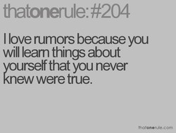 thatonerule: #204 