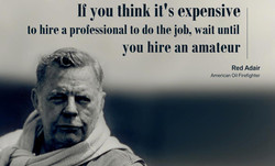 If you think it's expensive 